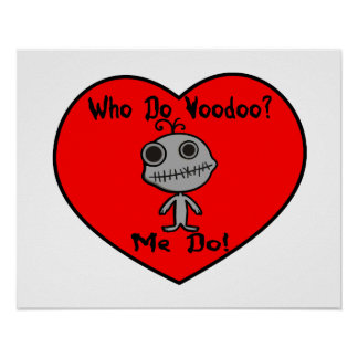 Who Do Voodoo Doll Print