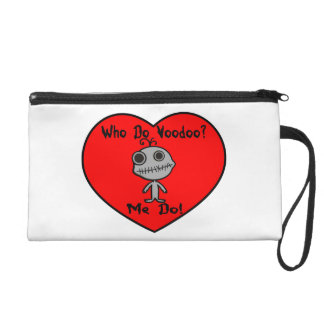 Who Do Voodoo Doll Wristlet Purse