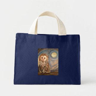 Who do you love? mini tote bag