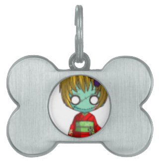 who doesnt like chibi pet ID tag