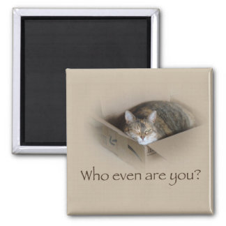 Who Even Are You? - Lily #1 Magnet