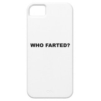 Who Farted? iPhone SE/5/5s Case