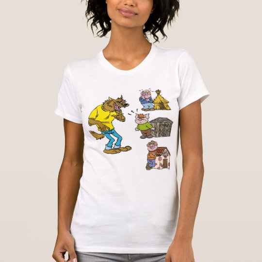 Who fears the Big Bully Wolf? Women T-Shirt