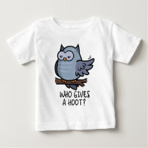 Who Gives a Hoot? Baby T-Shirt