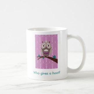 Who gives a hoot? Mug