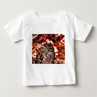 WHO GOES THERE? (Owl art design) ~ Baby T-Shirt