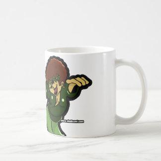 Who 'Gone Check Me Classic White Coffee Mug