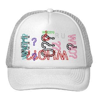 ¿WHO??? Gorra de béisbol de la edición del colecto
