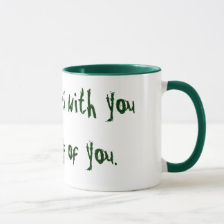 Who gossips with you will gossip of you. mug
