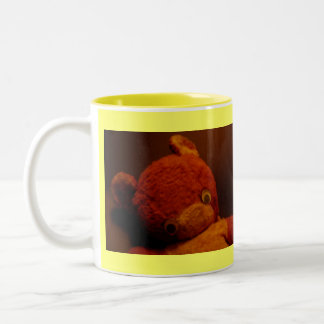 """Who has my nose?"" Two-Tone Coffee Mug"