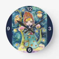 Who has the most beautiful lambs round clock