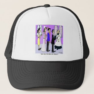 Who Has the Prenup? Trucker Hat