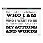 Who I Am Grey Laptop Decal