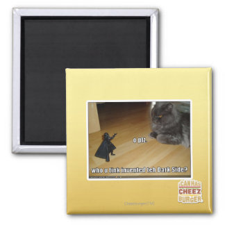 Who invented the dark side? 2 inch square magnet