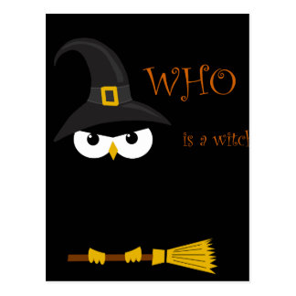 Who is a witch? - Black Postcard