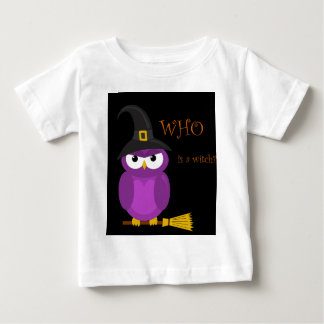 Who is a witch? - purple baby T-Shirt