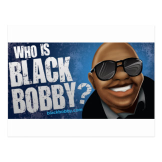 Who Is Black Bobby Gear Post Card