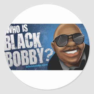 Who Is Black Bobby Gear Stickers