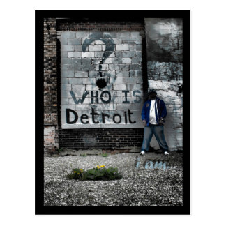 Who is Detroit (postcard) Postcard