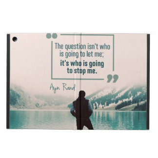 Who Is Going To Stop Me iPad Air Cover