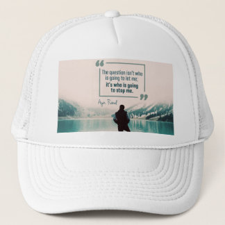 Who Is Going To Stop Me Trucker Hat