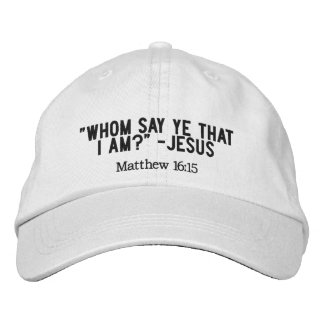 Who is Jesus to you? - cap