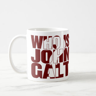 Who is John Galt? 11oz mug red
