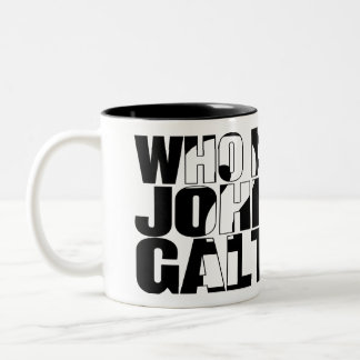 Who is John Galt? 15oz mug