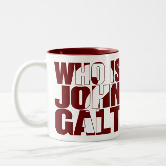 Who is John Galt? 15oz mug red