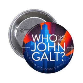 Who Is John Galt? 2 Inch Round Button