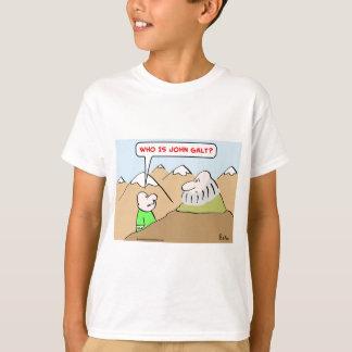 who is john galt ayn rand objectivism T-Shirt