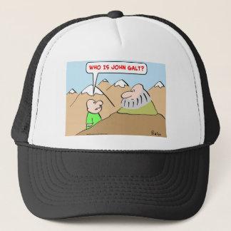 who is john galt ayn rand objectivism trucker hat