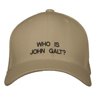 Who is John Galt? Baseball Cap