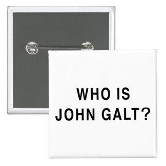 Who is John Galt? Pinback Buttons
