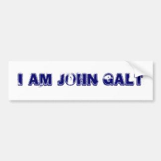 WHO IS JOHN GALT CAR BUMPER STICKER