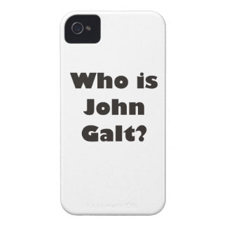 Who is John Galt? Case-Mate iPhone 4 Cases
