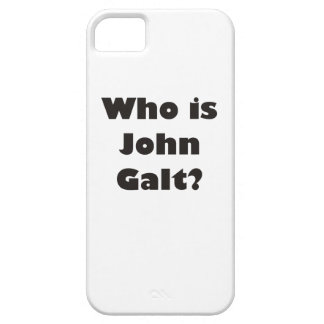 Who is John Galt? iPhone 5 Cases