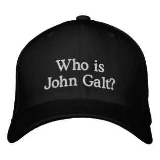 Who is John Galt? Hat Baseball Cap