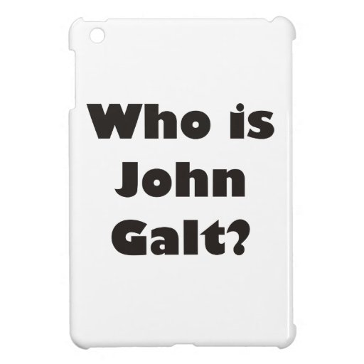 Who is John Galt? iPad Mini Covers
