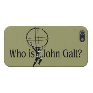 Who is John Galt? iPhone5 Case Cover For iPhone 5