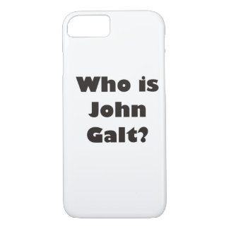 Who is John Galt? iPhone 7 Case