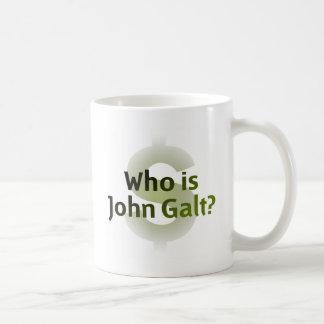 Who Is John Galt? Money Symbol Mug