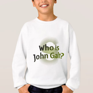 Who Is John Galt? Money Symbol Sweatshirt
