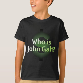 Who Is John Galt? Money Symbol T-Shirt