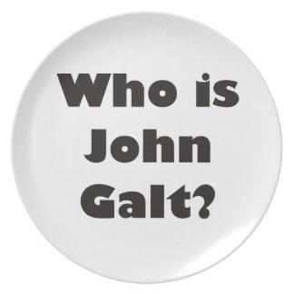 Who is John Galt? Plates