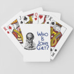 Who is John Galt? Playing Cards