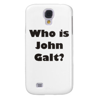 Who is John Galt? Samsung S4 Case