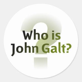 Who Is John Galt Sticker