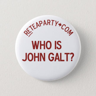 Who is John Galt Tea Party Button