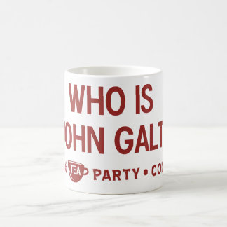 Who is John Galt Tea Party Mug